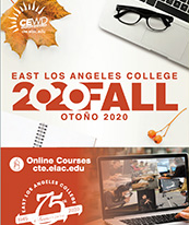 Coverpage of Continuing Education Fall 2020 Course Schedule