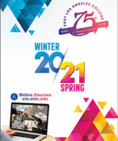 Coverpage of Continuing Education Winter/Spring 2021 Course Schedule