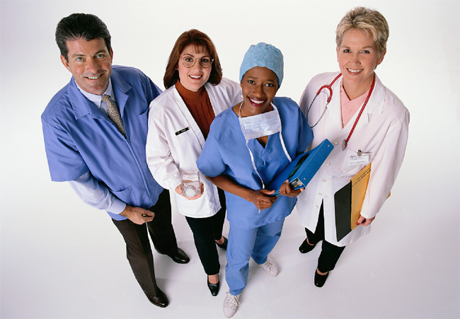 image of a group of people represent for Health Occupations programs