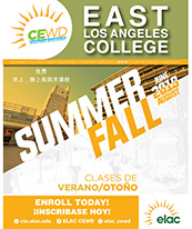 Coverpage of Continuing Education Summer/Fall 2019 Course Schedule