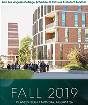 Coverpage of ELAC Fall 2019 Schedule of Classes