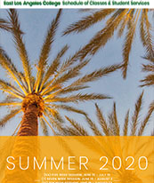 Coverpage of Summer 2020 Course Schedule