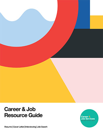 Cover page of CAREER and JOB Resource Guide