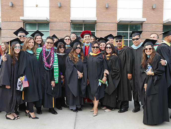 ELAC Counselors at 2017 Commencement Ceremony