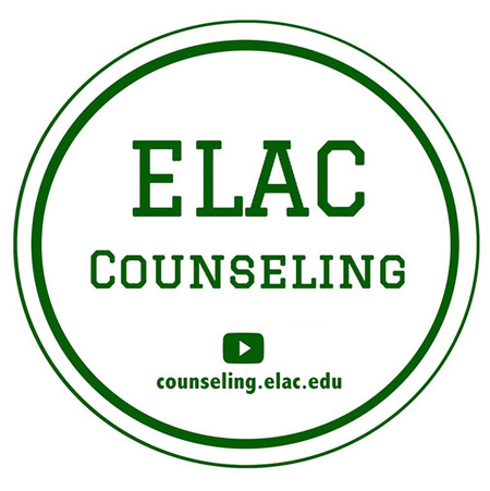 Logo of ELAC Counseling Social Media