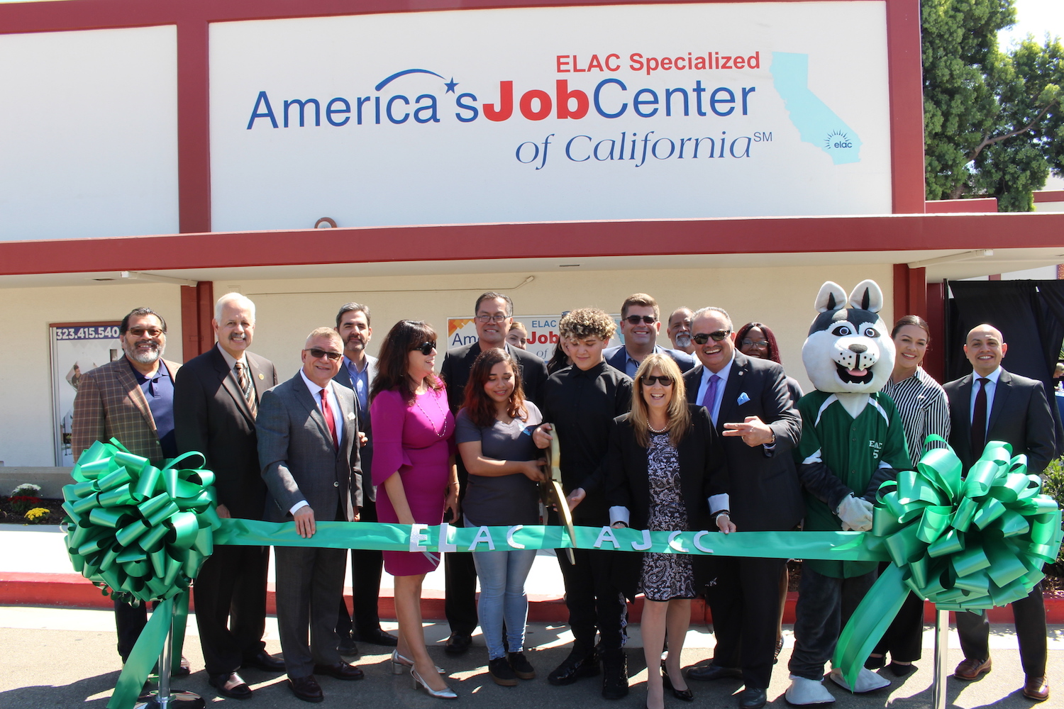 ELAC Opens First Specialized America's Job Center of California (AJCC) On-Campus