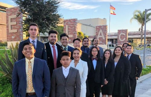 The ELAC Speech & Debate Team win their 4th State Championship in 5 years.